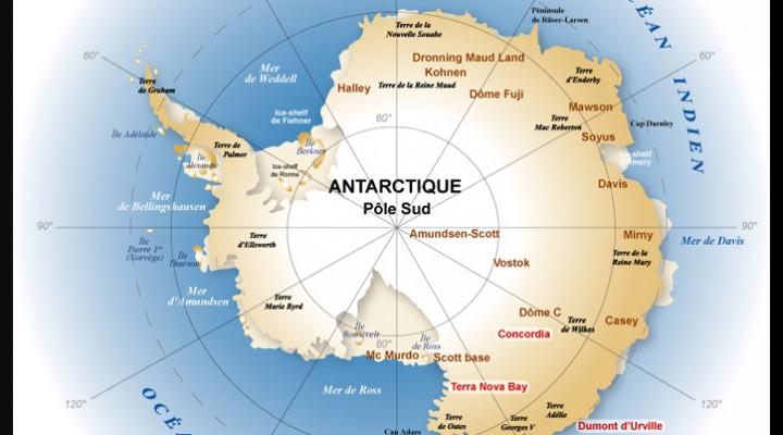 La découverte du Pôle Sud