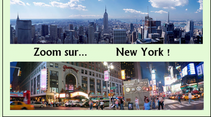 Zoom sur New York