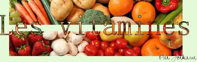 Les vitamines