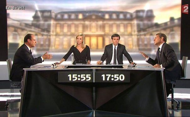 Sarkozy-Hollande : le débat de l'entre-deux tours !