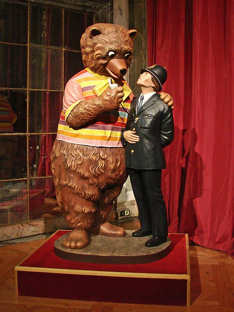 Bear and the policeman