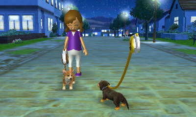 Nintendogs DS vs Nintendogs 3DS