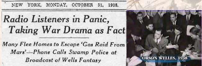 Le canular du 30 octobre 1938