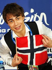 Alexander Rybak à l'Eurovision