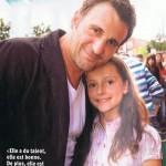 Le premier mari de Lynda avec sa fille