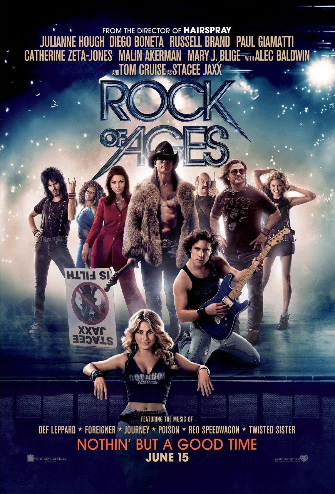 Critique de film : Rock of Ages