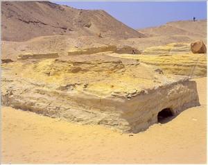 Photographie d'un mastaba