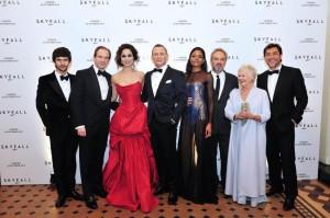 Principaux acteurs du film Skyfall