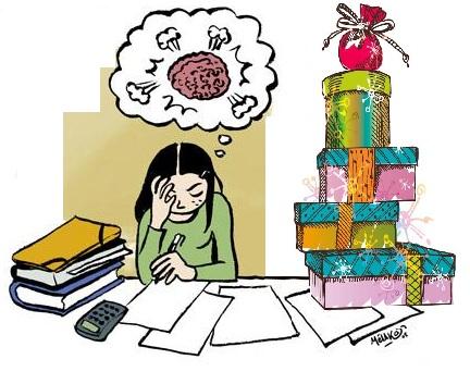 Les examens : plutôt avant ou après les vacances de Noël ?