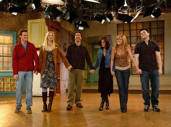 Nos six friends le dernier jour de tournage