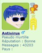 Anti bleue