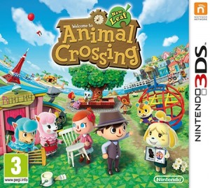 la boite du jeu animal crossing