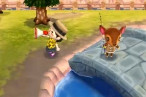 le mégaphone dans animal crossing
