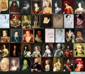 Portraits de rois et reines de France – Jean François Campion (1/11/2003)