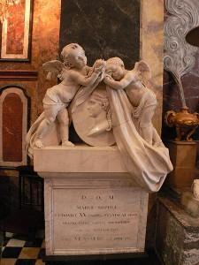 Monument où repose le coeur de Marie