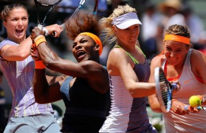 Demi-finalistes femmes à Roland Garros 2013
