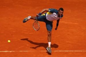Tsonga a atteint les quarts de finals à Roland Garros