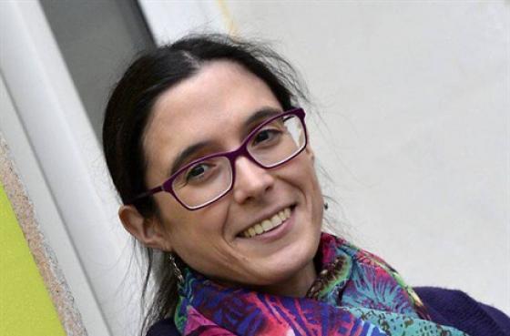 Céline Raphaël, auteure d'un livre