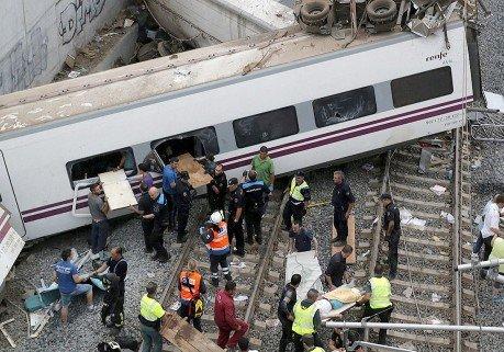 La catastrophe de Saint-Jacques de Compostelle : le bilan