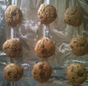 Cookies maison dans le four