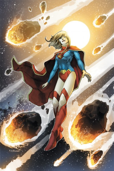 Illustration de la BD Supergirl