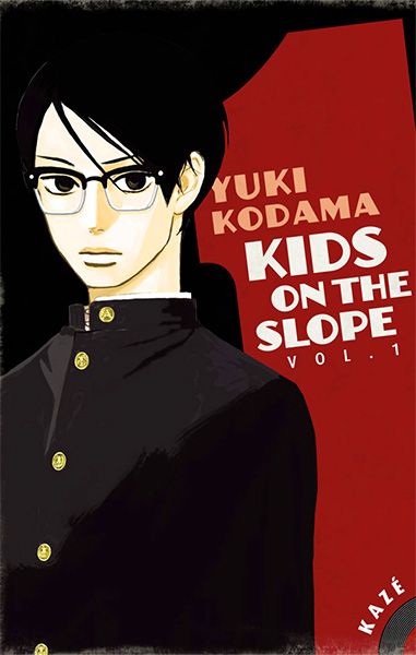 Première de couverture du tome un du manga Kids on the Slope