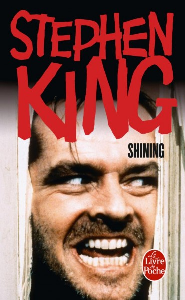 Couverture de la version poche du roman Shining