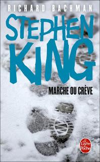 Couverture de la version poche du roman Marche ou Crève
