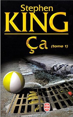 Couverture de la version poche du roman Ça