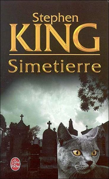Couverture de la version poche du roman Simetierre