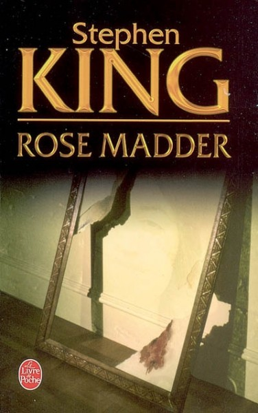 Couverture de la version poche du roman Rose Madder
