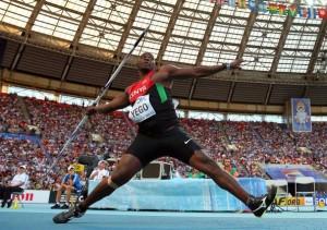 Julius Yego est arrivé 4e aux championnats du monde d'athlétisme 2013