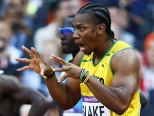 Yohan Blake médaillé aux championnats du monde d'athlétisme 2011