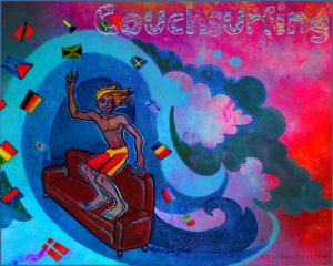 Image illustrant le couchsurfing