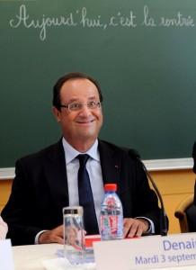 Photographie du président français