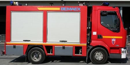 Véhicule des sapeurs-pompiers