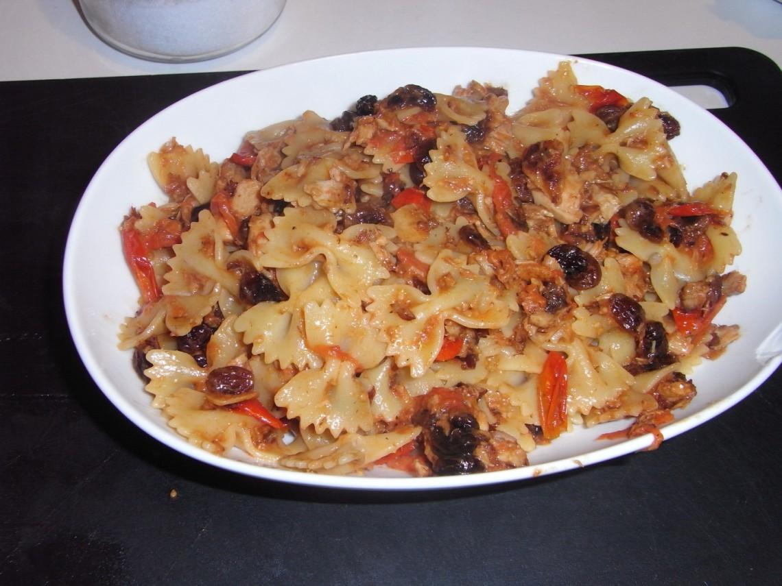 Recette de pâtes au thon