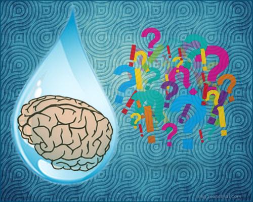La mémoire de l'eau