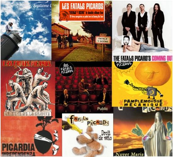 Les albums du groupe