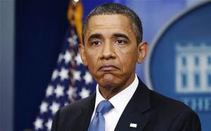 Cote de popularité de Barack Obama en baisse