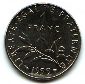 Le Franc était la monnaie française