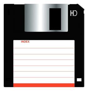 La disquette était un moyen de stockage