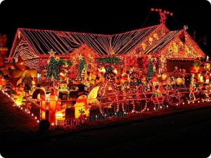 Une autre maison très décorée