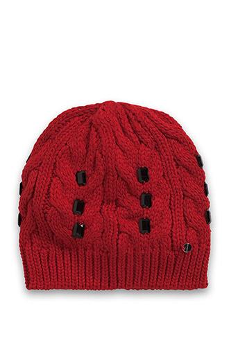 bonnet en maille avec pierres fantaisies disponible chez esprit
