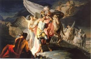 Francisco de Goya, peintre de Aníbal vencedor contempla por primera vez Italia desde los Alpes