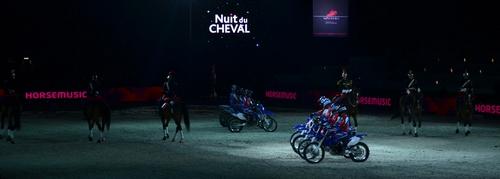 Motos et Chevaux à la Nuit du Cheval