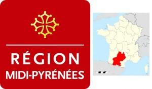 Logos conseils régionaux Midi-Pyrénées