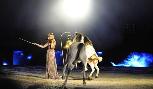 Musique, danse et chevaux à la Nuit du Cheval