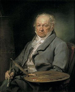 Peintre Francisco de Goya