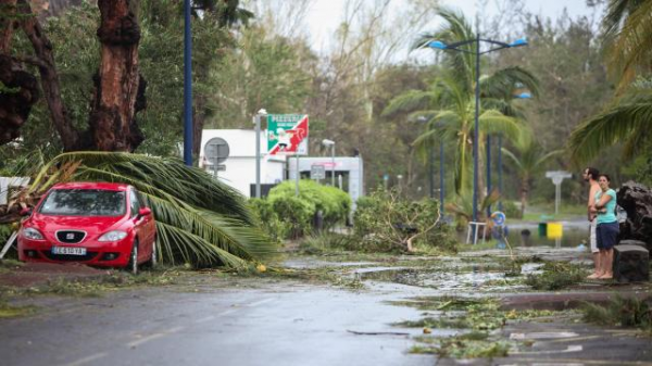 Photo des dégats du cyclone Bejisa